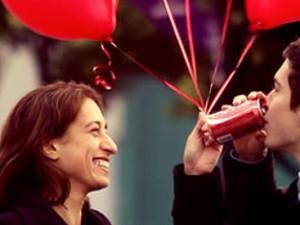 Coca-cola s'envole pour la St Valentin !